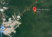 Precioso terreno en venta en cancun rumbo a merida