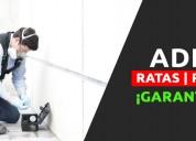 Fumigación segura y efectiva de roedores y más
