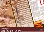 Mediatech curso de diseño editorial