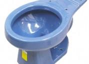 """Tasa (wc) ¡seminueva"""", marca: lamosa, color azul"""
