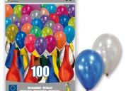 Empaca y embolsa globos para fiestas