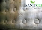 Desinfectado de colchones sanitizado