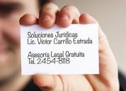 abogados en el distrito federal, asesorÍa gratuita