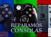 Reparación de consolas de videojuegos.