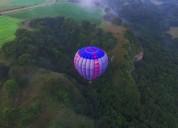 Vive la experiencia de elevarte en globo