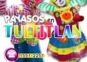 Payasos para fiestas infantiles en tultitlan