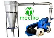 Pulverizadora de martillo para  granos mkh500c-c