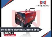 Venta de soldadora electrica lincoln de 550a