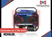 Venta de generador electrico kohler de 3,700 watts