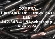 Cortadores de carburo de tungsteno compra