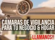 Sistema de seguridad para tu negocio o domicilio.