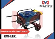 Venta de generador electrico kohler de 5,000 watts