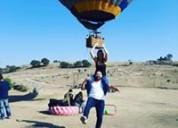 Inicia tu día con elevaciones y vuelos en globo.