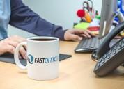 Oficinas virtuales en paquetes fast office