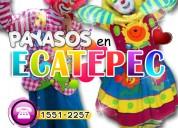 Payasos para fiestas infantiles en ecatepec