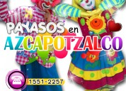 Payasos para fiestas infantiles en azcapotzalco