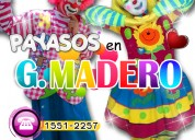 Payasos para fiestas n gustavo a madero - cdmx