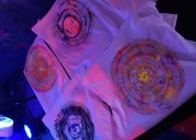 Spin art zone paint t shirt