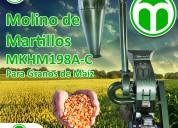 Maquina para moler granos de martillos mod. mkhm19