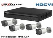 Camaras de cctv y cercas electricas 5549983087