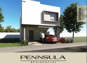 casa en preventa c/terreno excedente. península
