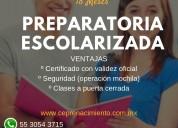 Preparatoria escolarizada  (18 meses)