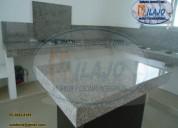 Haermosa cubierta  en granito natural gris claro
