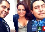 Serenatas y eventos con trio estado de mexico