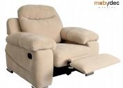 Reclinables sillones muebles para el hogar mobydec