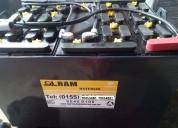Venta de baterias para montacargas