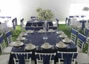 Carpas elegantes y banquetes