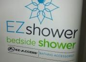 Lavacabezas inflable c/depósito de agua ez shower