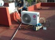 Instalación de aires acondicionados. servicios