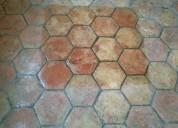 Abrillantado de piso de barro