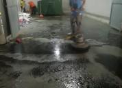 Limpieza gruesa y terminacion de obra