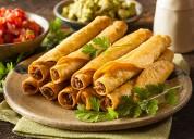 Flautas y tostadas para fiestas en cuernavaca