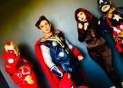 show de los avengers!