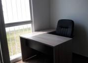 Grandes descuentos en la renta de oficinas amuebla