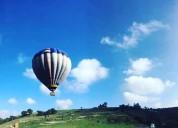 Elevaciones y vuelos en globo