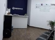 Renta de 2 oficinas equipadas, col. chapalita