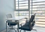 Oficinas en edificio nuevo e inteligente