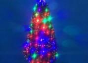 Arbol de navidad con fibra optica por mayoreo