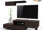Centros de entretenimiento mueble para tv mobydec