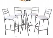 Sillas periqueras muebles para bares y cafeterias