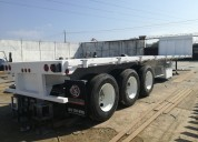 Plataforma 40' marca trailers steelhorse