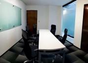 Tu oficina amueblada con excelente ubicaciÓn