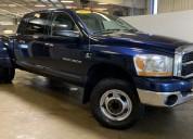 Dodge ram 3500 modelo 2006 color azul