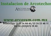 Techos curvos (arcosum)