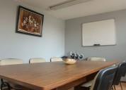 Renta de oficinas y sala de juntas en naucalpan