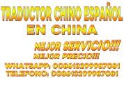 Intérprete traductor chino shanghai en china